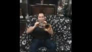 Elvis Ajdinovic Orkestar с поздрав за публиката на Балканица - 26.02.2017 - Ндк