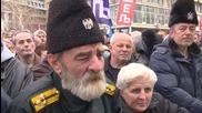 Serbia: Belgrade protesters rally against Karadzic genocide verdict