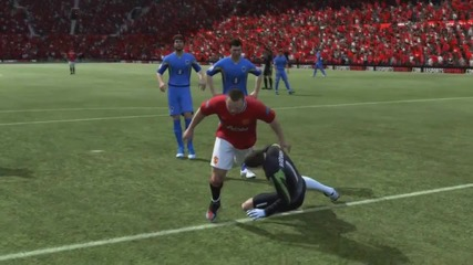 Rooney може да лети ? Fifa 12 !!! ;dd