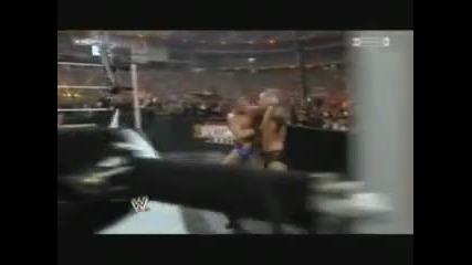 Randy orton vs legacy wrestlemania 26