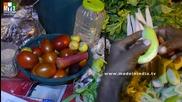 Бърза Храна на улицата .. Cooking Tips - How to Slice Cucumbers - - Mumbai Street Food