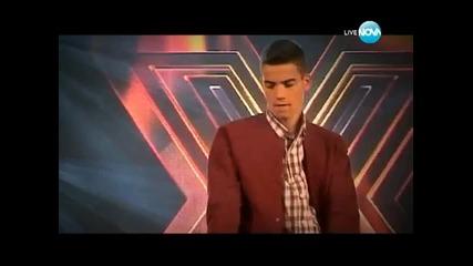 X Factor Атанас Колев Live концерт - второ изпълнение - 12.12.2013г.