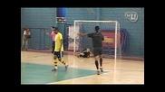 Ромарио със завързани очи вкарва гол след гол...