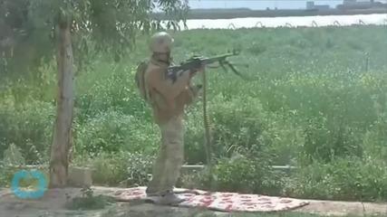 Iraqi Militia Loyal to Radical Shiite Cleric Al-Sadr Joins Fight for Islamic State-held Tikrit