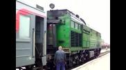 Влакове в Русия