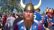 Russia: Horns, drums and Viking war chants - Iceland fans prepare for Nigeria clash