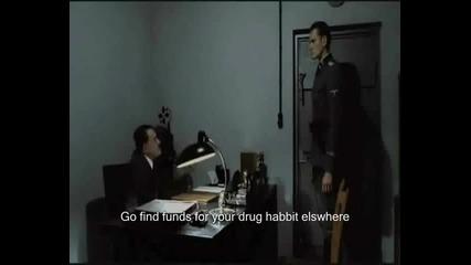 Хитлер е питан има ли дребни монети