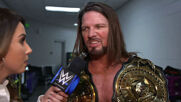 AJ Styles oozing confidence heading into WWE Clash of Champions: WWE Network Exclusive, Sept. 25, 2020