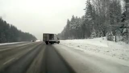 Не подценявайте снега ! :х