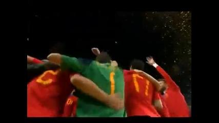 Фифа Световно първенство 2010 - Шампионите от Испания - Церемония по награждаване