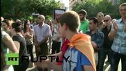 Armenia: Electric Yerevan protesters break into DANCE as demos continue
