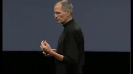Стийв Джобс Представя Ipod Nano 4g