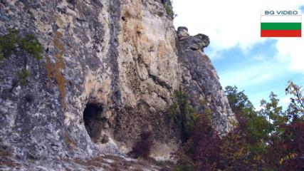 Шуменско плато-монашески килии над Хан Крум