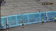 Феновете на Левски Във време, когато няма пари се играе за идеали и мечти