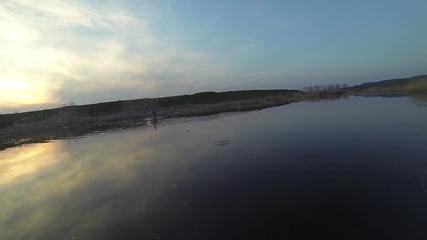 Риболов с немите лебеди