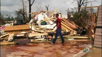 Преследвачи на бури - последствията от торнадото в Yazoo city
