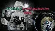 Lady Gaga - Paparazzi [karaoke Instrumental]