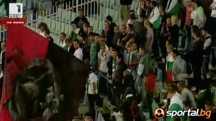 България с човек по-малко срещу Дания! България - Дания 1:1