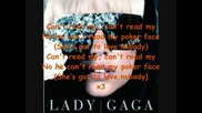 Lady Gaga - Poker Face ( Lyrics )