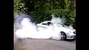 Mercedes Clk 63 Amg Burnout Дзъма