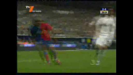 Реал Мадрид 2:6 Барселона гол на Пике