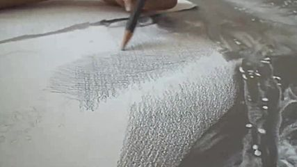 ХИПЕРРЕАЛИЗЪМ - Рисуване с графитни моливи - 180 часа