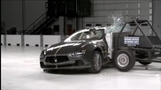 2014 Maserati Ghibli side Iihs crash test
