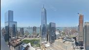Построяването на Световен търговски център 1, събрано в 2 минути