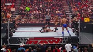 Batista & Triple H vs Randy Orton, Cody Rhodes & Manu