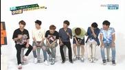 [eng] 150715 Weekly Idol - Infinite ghost dream aegyo funny cut