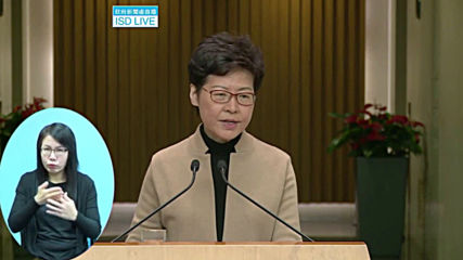 Hong Kong: Chief Executive Lam urges 'peaceful resolution' of PolyU stand-off