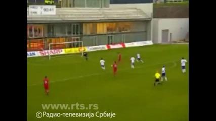 Фарьорски о - ви - Сърбия 0:3