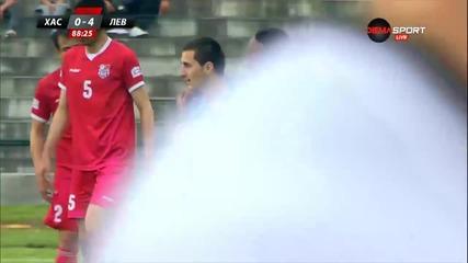 Мики Орачев вкара за 5:0 срещу Хасково
