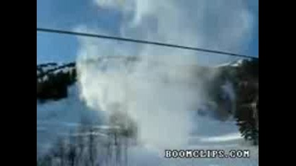 Торнадо от сняг или нещо подобно