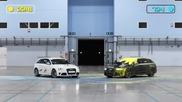 Пейнтбол дуел с двe чисто нови коли Audi Rs 4 Avants