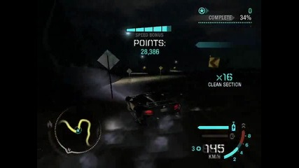 Need For Speed Carbon Drift 1, 000, 000 Points