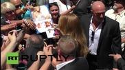САЩ: Марая Кери получи своя звезда на алеята на славата