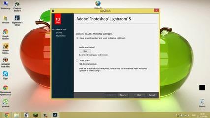 Как да си инсталираме Adobe Photoshop Lightroom v5
