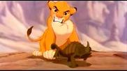 """Епична сцена от """" Цар Лъв"""""""