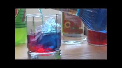 Как да си направим як цветен коктейл