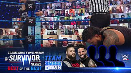Daniel Bryan vs. Jey Uso – Survivor Series Qualifying Match: SmackDown, Oct. 30, 2020