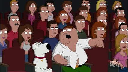 Family Guy - Peter at the cinema :d