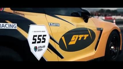 Най-бързата кола в Европа, на 1/4 миля - Gtr (r35) Mk.1 Gosha Turbo Tech Moses 7.8 sec, 287 kmph