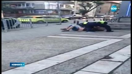 Видео с полицейско насилие провокира коментари в социалните мрежи