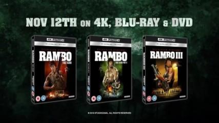 Рамбо: Трилогия - Трейлър (1982-1985-1988)