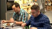 Лора и Стоян посрещат гостите в студиото на Бон Апети - Черешката на тортата (16.02.2016)