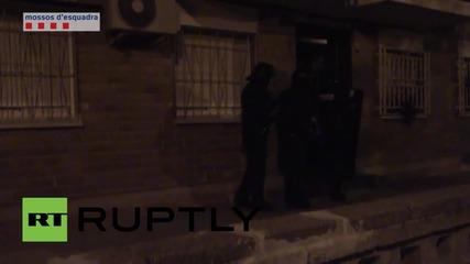 Spain: Police arrest 11 terror suspects in Catalonia raids