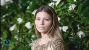 Jessica Biel Shows Peek of Bare Baby Bump During Final Days of Pregnancy