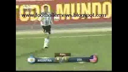 Copa America 2007 - Usa Vs Argentina