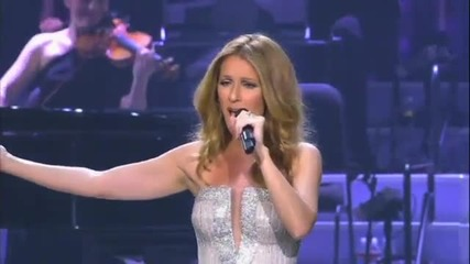 /превод/ Celine Dion - Open Arms - на живо в Лас Вегас 2011*високо качество*